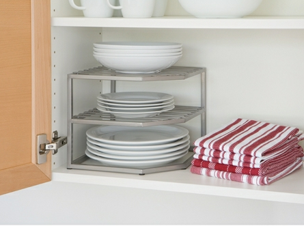 Live Simply All-Star: Kitchen Cabinet Stacking Shelves ...