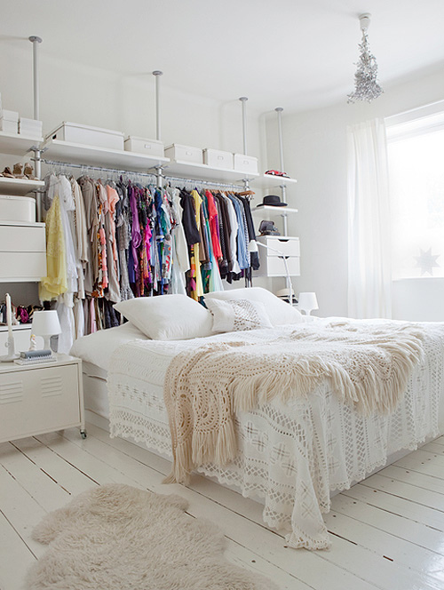 No Closet? No Worries; 4 Options for Faking It | Live Simply by Annie