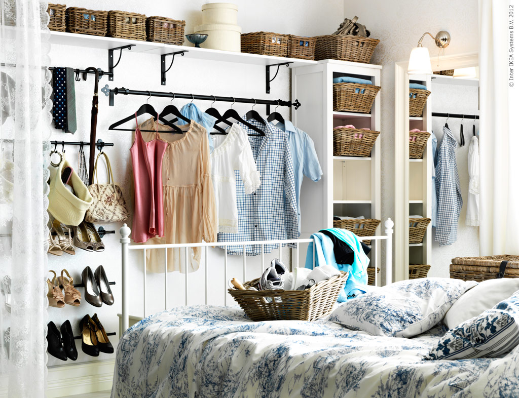 No closet no worries 4 options for faking it live - No closet in bedroom ...