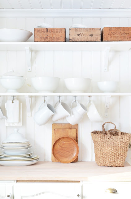 Space Saver In The Kitchen Hanging Mugs Livesimplybyannie